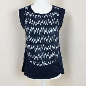 J. Crew linen/cotton sleeveless top